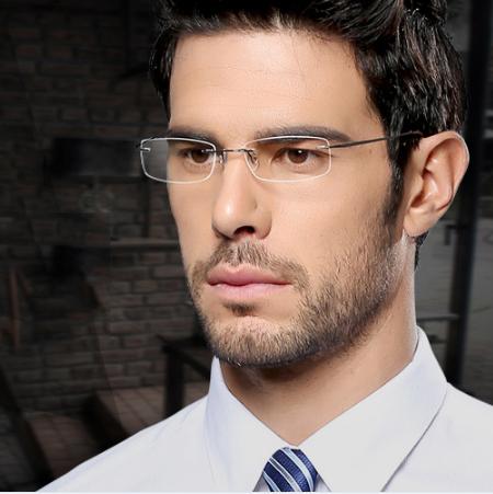 óculos de grau masculino quadrado como usar