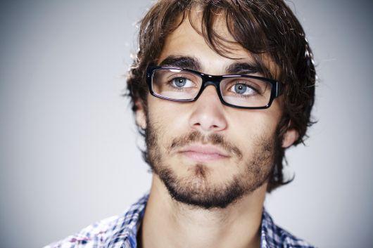 óculos de grau masculino rosto coração