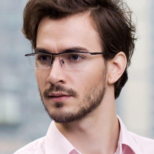 óculos de grau masculino triangular