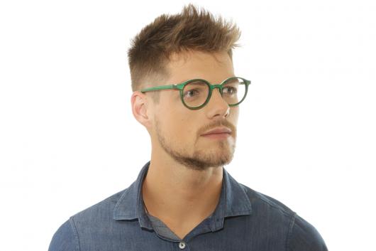 armação óculos grau masculino redondo colorido
