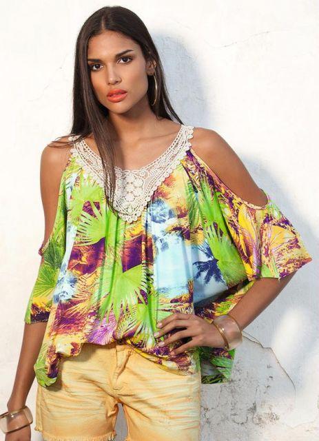 fotos de blusa ombro vazado