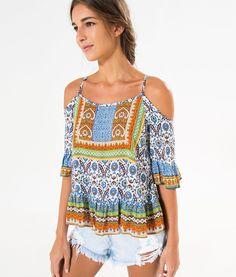 blusa ombro vazado modelos e como usar