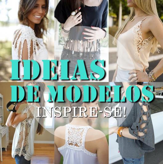 imagem de introdução para o tópico sobre ideias e modelos de blusas customizadas