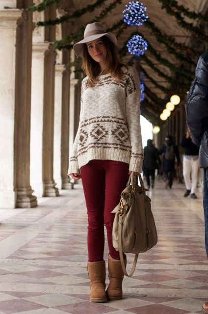 bota ugg sweater