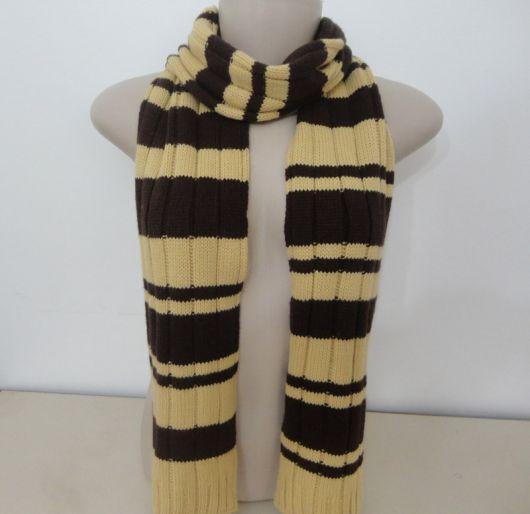 cachecol de tricô masculino como fazer