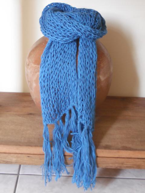 cachecol de tricô que desmancha como fazer