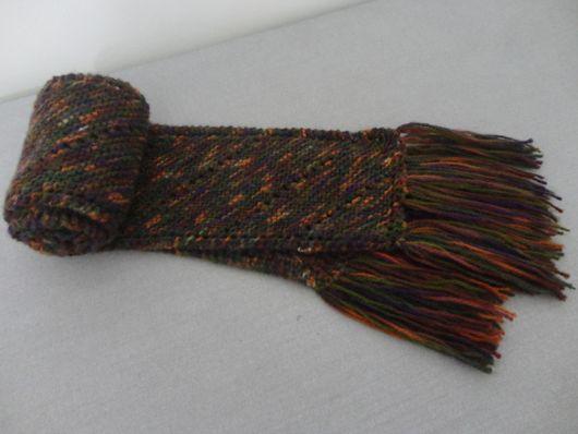 cachecol de tricô tradicional