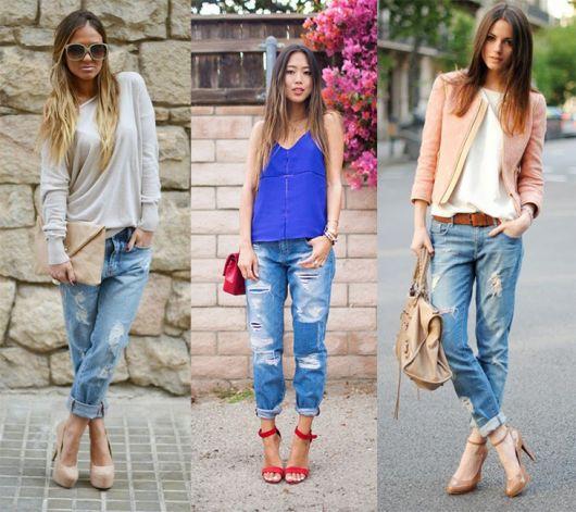 sapatos para usar com calça dobrada