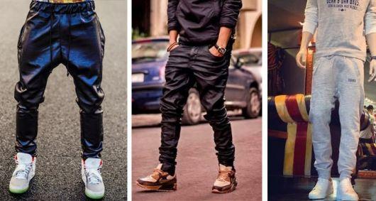 calça estilo swag