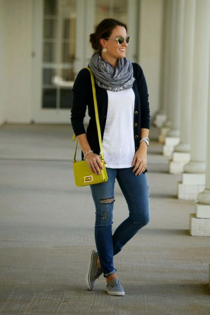 look com bolsa amarela