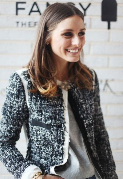 fotos de looks com casaco tweed