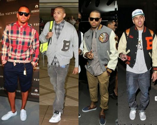 chris brown estilo swag masculino