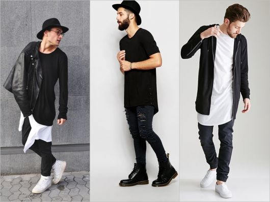 Camiseta Longline/Oversized: Como usar e 80 looks!