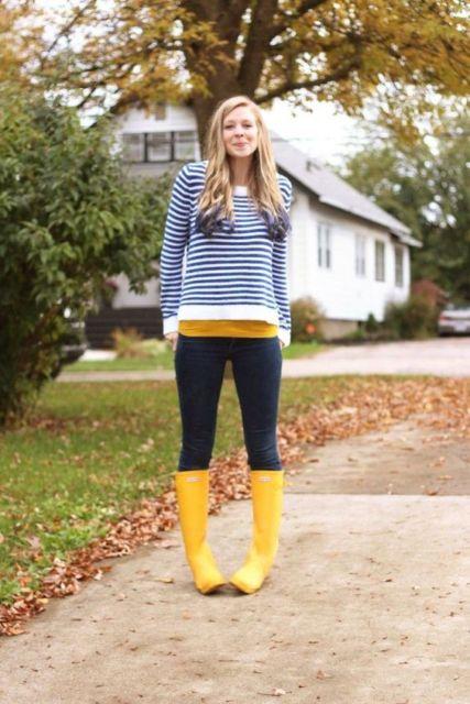 look com bota amarela