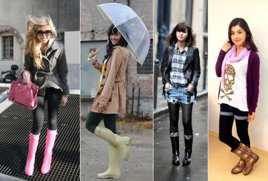 modelos de galocha feminina