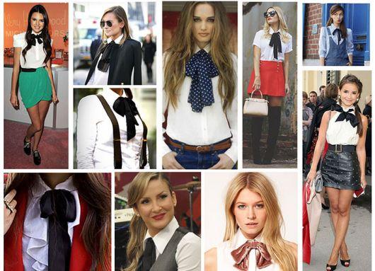 gravata feminina destaque