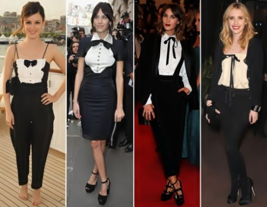 Gravata feminina como usar modelos e 100 looks gravata feminina look social thecheapjerseys Images