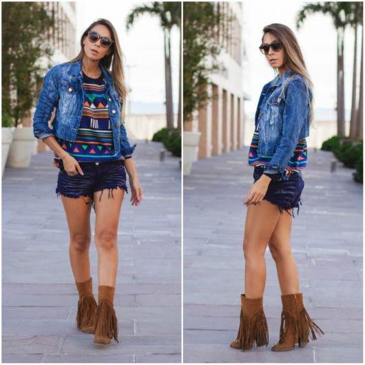Jaqueta jeans feminina modelos e como usar!