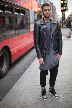 longline e jaqueta