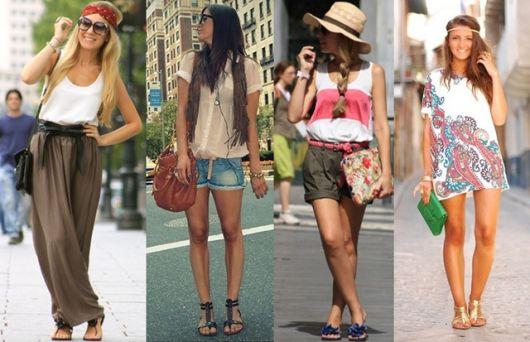 looks para viajar sapatos confortáveis