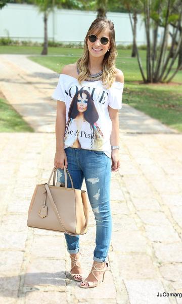 camisetas descoladas como usar