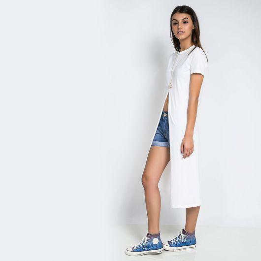 maxi tee com shorts clean