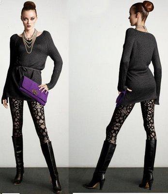 meia calça colorida look fashion