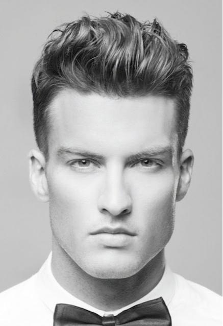 penteados masculinos arrepiado como fazer