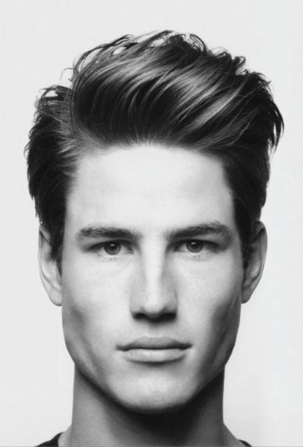 penteados masculinos para tras