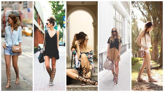 Sandália gladiadora: veja como não errar no look!