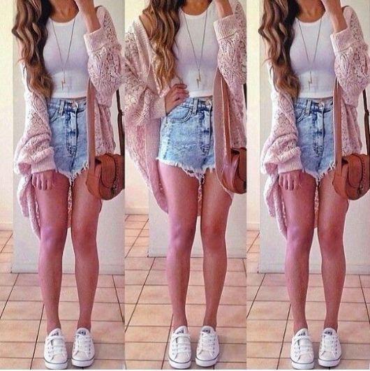 short hot pants - estiloso