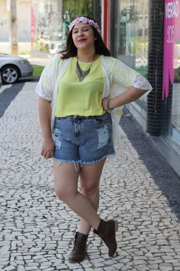 short hot pants plus size