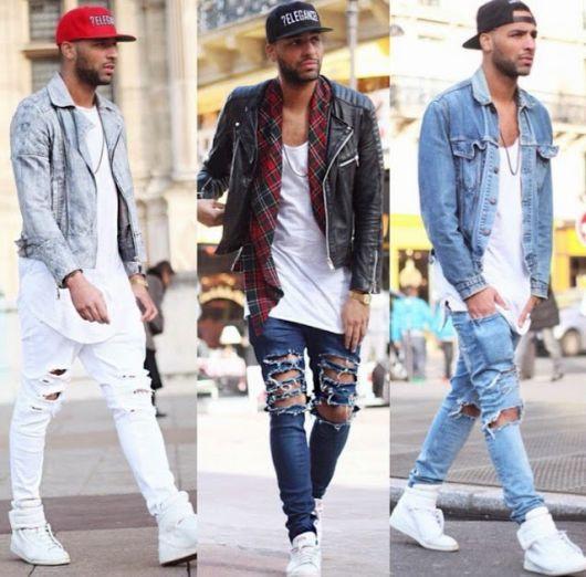 swag com jeans rasgso