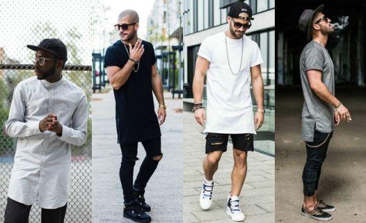 swag masculino camiseta
