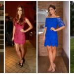 Vestido de renda curto: 60 modelos lindos!