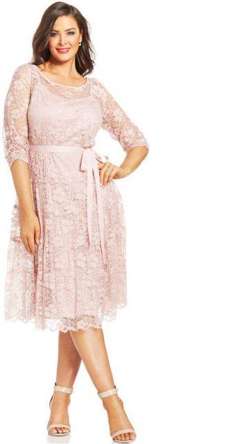 modelo rosa para gordinhas