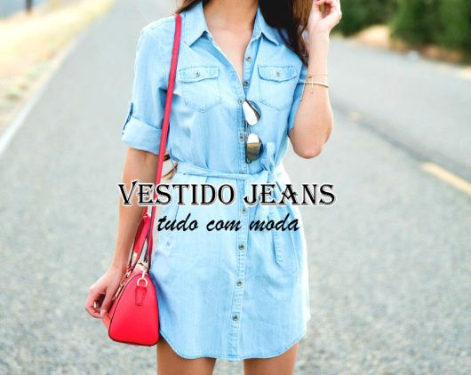 vestido jeans - capa do post