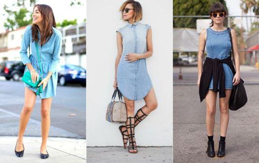 vestido jeans dicas fashion