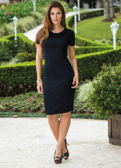 Looks com o vestido preto