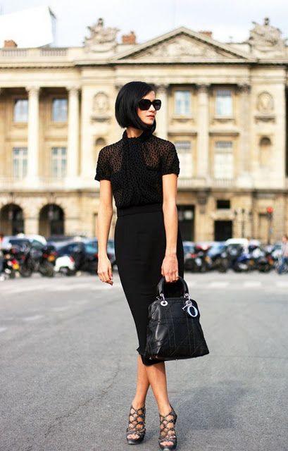 vestido tubinho preto lenço