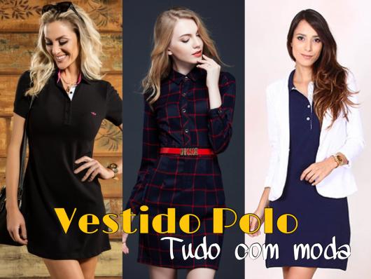 Vestido Polo: 50 modelos e dicas de como usar!