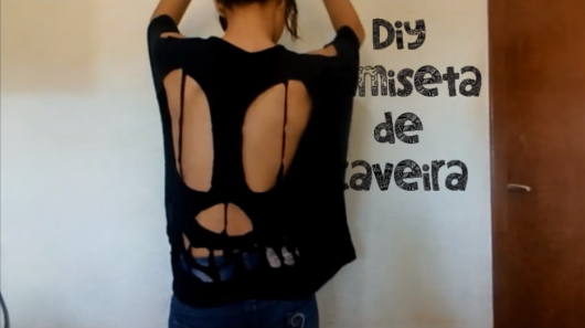 tutoriais de blusas customizadas