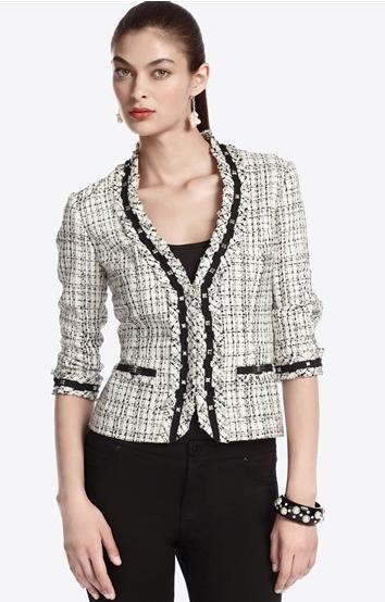 casaco tweed social