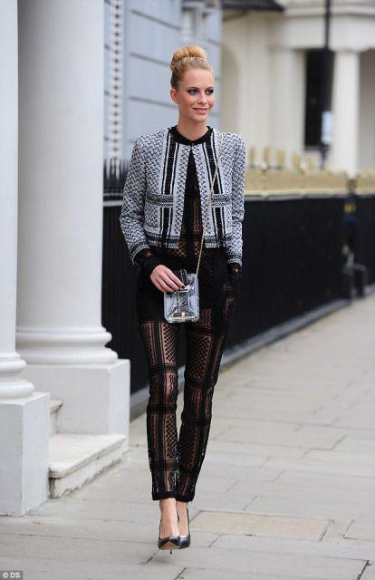 casaco tweed entre as tendências da moda
