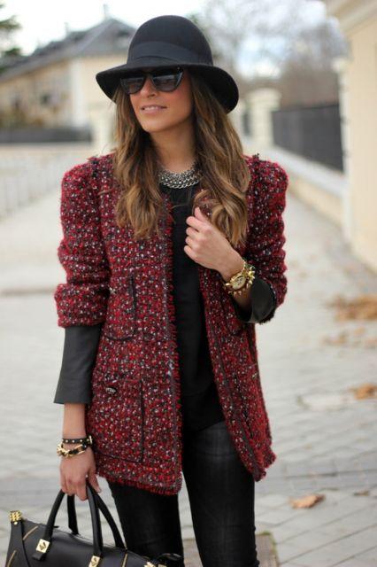 comprar casaco tweed