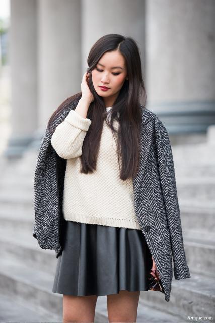 preço de casaco tweed