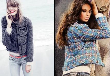 como usar casaco tweed