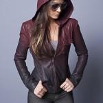 Jaqueta de couro com capuz: mais de 20 looks incríveis!