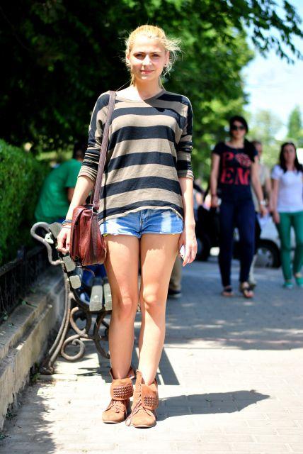 botas em looks de verão