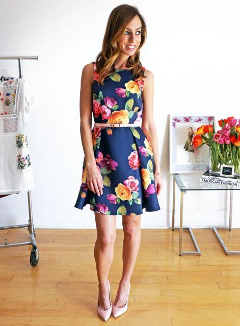 looks de verão com vestido com flores